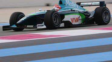 GP2 Series: Xandinho é 2º nos primeiros testes na França