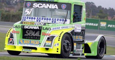 Truck: Zé Maria consegue maior melhora do dia