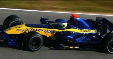 F1: Em Jerez, Fisichella marca melhor tempo