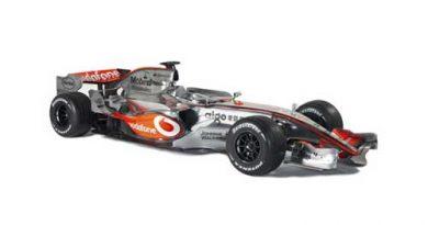 F1: Depois de muito suspense, a McLaren apresenta seu carro para 2007