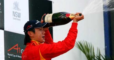 A1GP: Ho-Pin Tung faz história