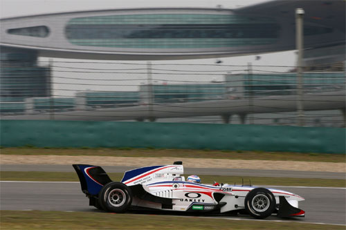 A1GP: Grã Bretanha conquista a pole em Xangai