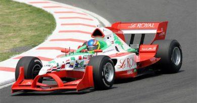 A1GP: Khodair enfrenta problemas com o equilíbrio do carro no México