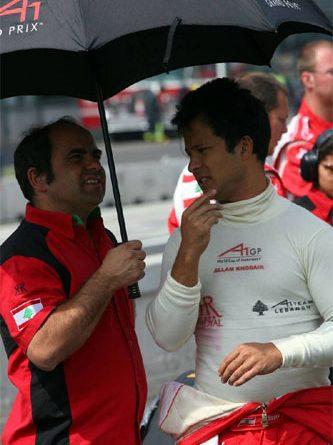A1GP: Allam Khodair, brasileiro que compete pela equipe do Líbano, teve problemas com o carro, mas terminou as duas corridas do México