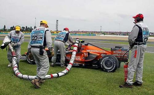 F1: Confira as melhores imagens do GP da França