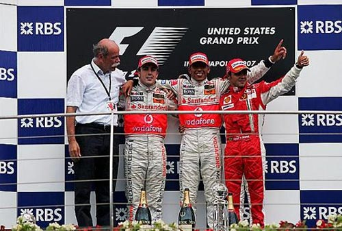F1: Lewis Hamilton é soberano nos EUA