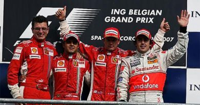 F1: Raikkonen vence GP da Bélgica