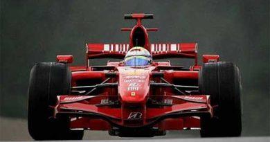 F1: Em dia chuvoso Massa é o mais rápido em Spa