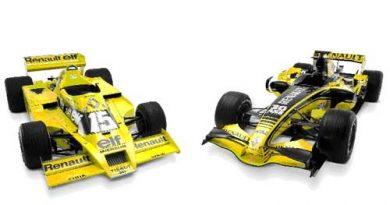 F1: Renault comemora 30 anos na categoria