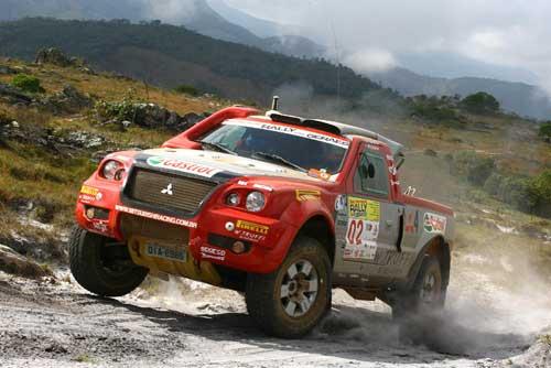 Rally: Mitsubishi Racing disputa prova inédita em Joinville