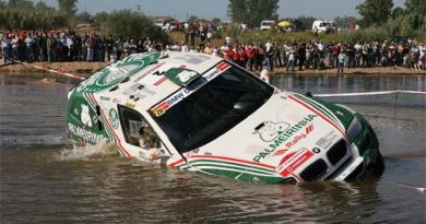 Rally: Acidente tira Palmeirinha do Transibérico 2007, ouça!
