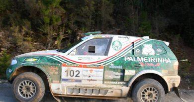 Rally: Palmeirinha é o 2º colocado na 4ª etapa do Rally Por Las Pampas
