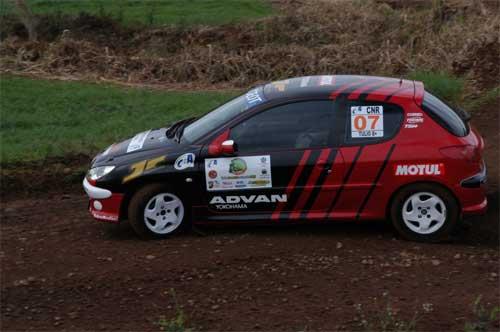 Rally: Rafael Tulio e Gilvan Jablonski querem manter o aproveitamento de 100% na Copa Peugeot