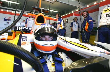 F1: Nelsinho Piquet será titular da Renault em 2008