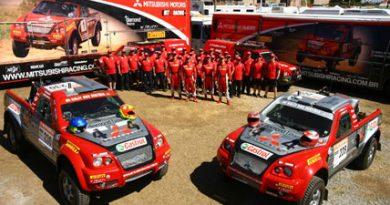 Raly: Mitsubishi Racing segue para mais uma decisão no Rally dos Amigos