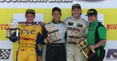 F3 Sulamericana: Fábio Beretta conquista seu primeiro pódio em 2007