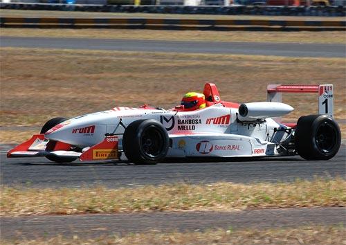 F3 Sulamericana: Clemente Faria estabelece quarta pole na temporada