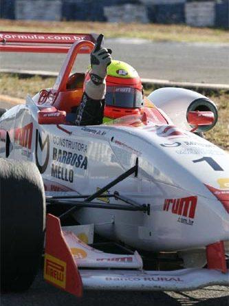 F3 Sulamericana: Clemente Jr., de ponta a ponta, fatura a primeira em Brasília