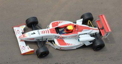 F3 Sulamericana: Clemente Faria marca outra pole e quebra recorde da pista