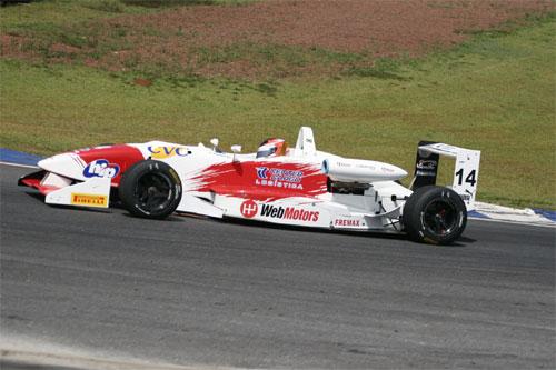 F3 Sulamericana: Felipe Ferreira enfrenta chuva e conquista sua melhor posição de largada