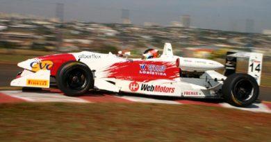 F3 Sulamericana: Felipe Ferreira termina em quinto