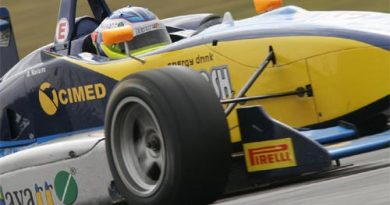 F3 Sulamericana: Denis Navarro termina na 9ª colocação em Curitiba