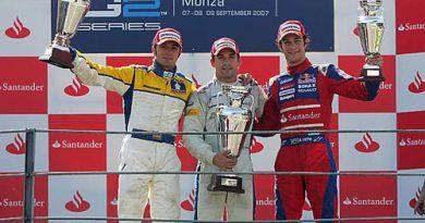 GP2 Series: Bruno Senna sobe ao pódio do GP da Itália