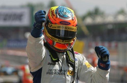 GP2 Series: Em casa, Timo Glock vence e amplia liderança