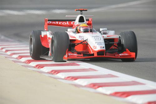 GP2 Series: Pizzonia decepcionado com acerto do carro no Bahrein