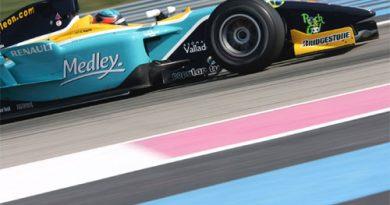 GP2 Series: Zuber domina também treino final na França