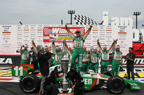 IRL: Tony Kanaan vence o GP do Japão