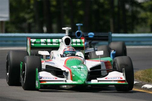 IRL: 'Tinha carro capaz de vencer!', diz Kanaan após Mid-Ohio