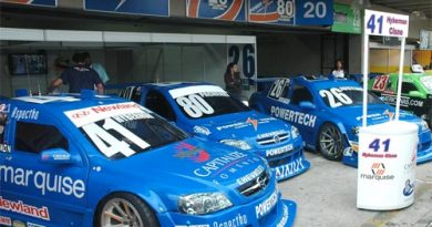 Stock: Luiz Trinci, o Dragão, é o novo sócio da equipe Powertech