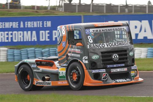 Truck: Em sua volta a categoria, Borlenghi larga em 3º