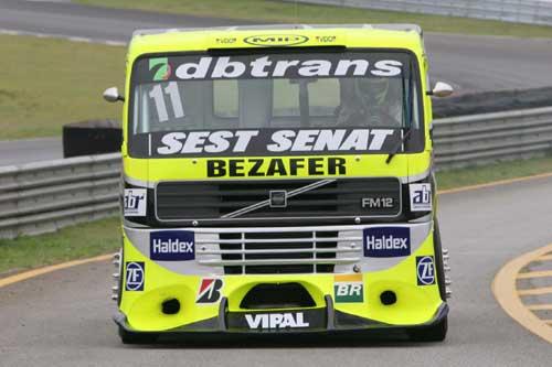 Truck: Diumar Bueno volta ao pódio na etapa de Fortaleza