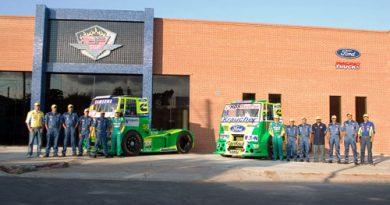 Truck: Nova oficina da Ford Racing Trucks/DF Motorsport está praticamente concluída