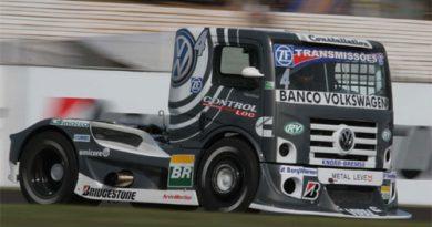 Truck: Em prova acidentada, Giaffone conquista primeiro pódio com Volkswagen
