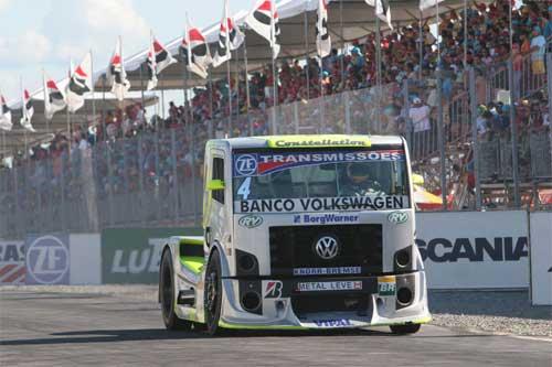 Truck: Giaffone vence a segunda consecutiva