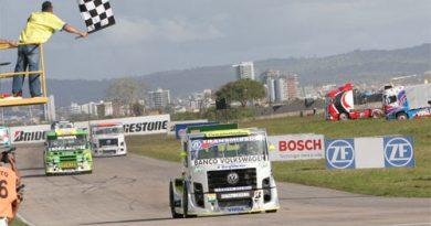 Truck: Giaffone vence a terceira consecutiva e assume a liderança