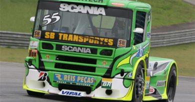 Truck: José Maria fica em oitavo nesta sexta