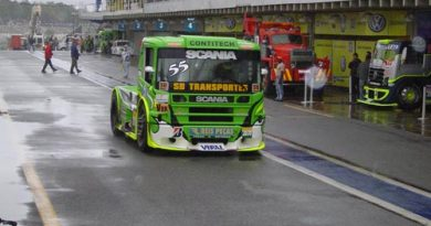 Truck: Zé Maria conhece, da pior forma, a terra da garoa
