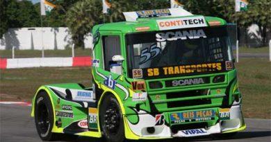 Truck: Zé Maria chega nos pontos, mas não termina