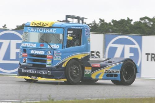 Truck: Pedro Muffato volta confiante ao palco de sua primeira vitória