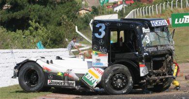 Truck: 'Deus me salvou', afirma Piquet