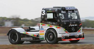 Truck: Piquet larga na terceira fila em Goiânia