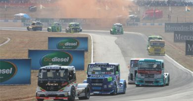 Truck: Piquet fica sem freios em Goiânia