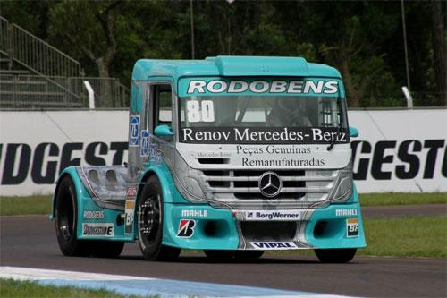 Truck: Chuva atrapalha Vinicius Ramires que irá largar na 7ª posição