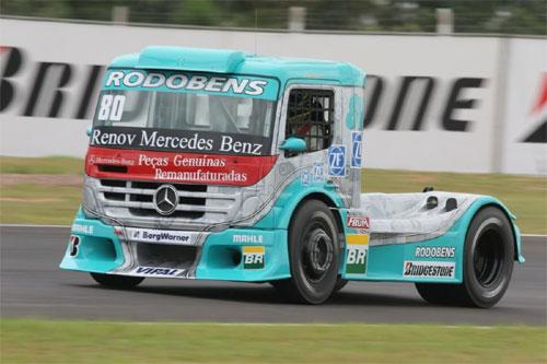 Truck: Com problemas, Ramires larga na 5ª posição