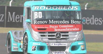 Truck: Testes com Mercedes-Benz animam Ramires para 'etapa especial' da Truck