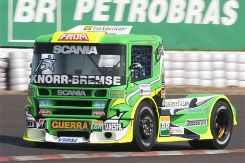 Truck: Roberval Andrade é o mais rápido nos treinos de sexta-feira